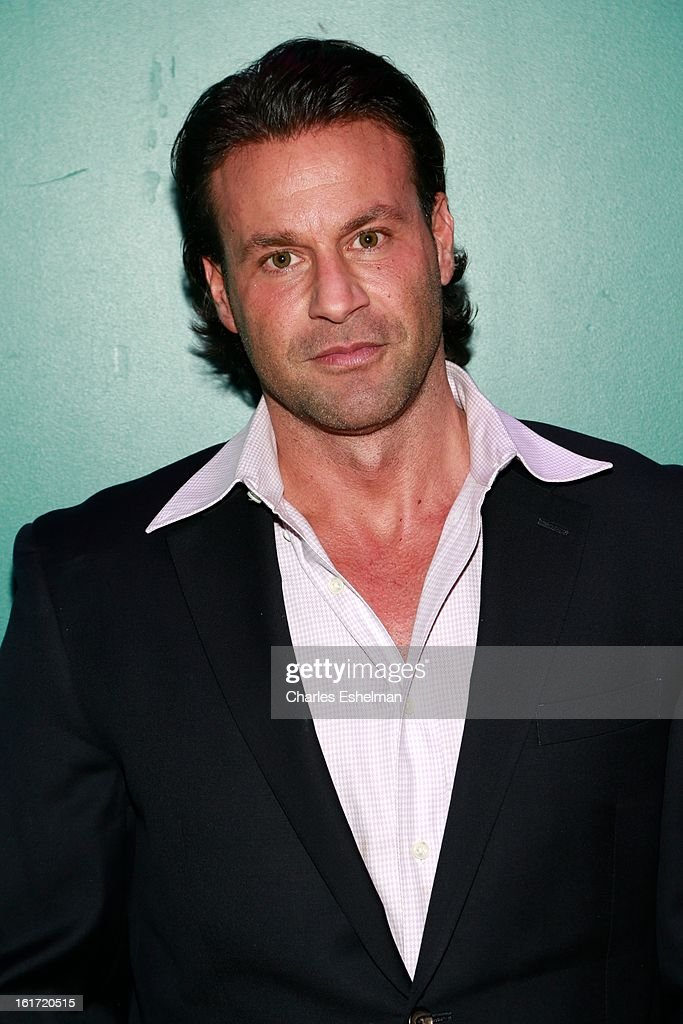 Actor Steve Stanulis attends the Callula Lillibelle Presentation during Fall 2013 Mercedes-Benz Fashion Week at Hudson Terrace on February 14, 2013 in New York City.