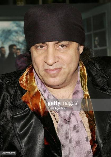 Actor Steve Van Zandt arrives at the HBO Season Premiere Of 'The Sopranos' at the Museum of Modern Art on March 7 2006 in New York City
