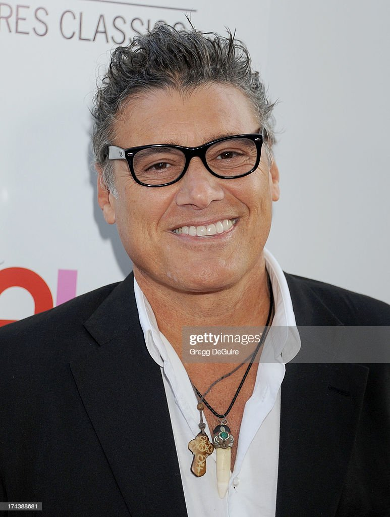 Actor Steven Bauer arrives at the Los Angeles premiere of 'Blue Jasmine' at the Academy of Motion Picture Arts and Sciences on July 24, 2013 in Beverly Hills, California.
