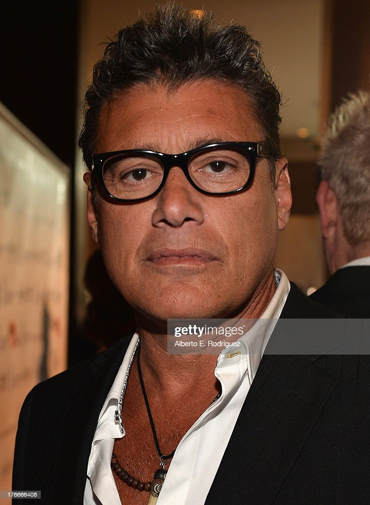 Actor <a gi-track='captionPersonalityLinkClicked' href=/galleries/search?phrase=Steven+Bauer&family=editorial&specificpeople=220736 ng-click='$event.stopPropagation()'>Steven Bauer</a> arrives to the 28th Annual Imagen Awards at The Beverly Hilton Hotel on August 16, 2013 in Beverly Hills, California.