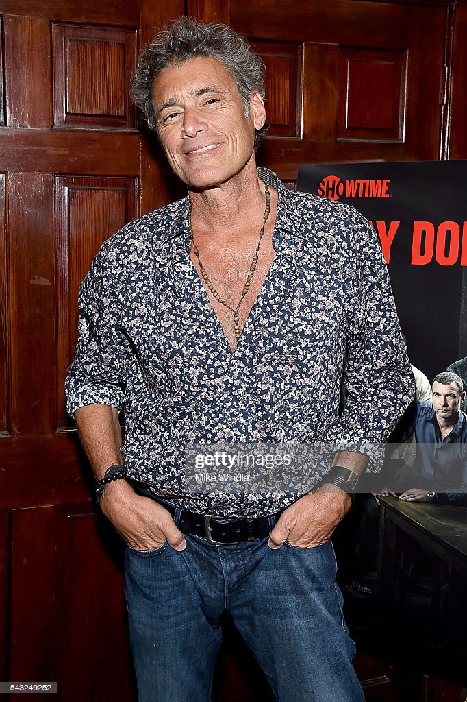 Actor <a gi-track='captionPersonalityLinkClicked' href=/galleries/search?phrase=Steven+Bauer&family=editorial&specificpeople=220736 ng-click='$event.stopPropagation()'>Steven Bauer</a> attends a viewing party for Showtime's 'Ray Donovan' at O'Brien's Irish Pub on June 26, 2016 in Santa Monica, California.