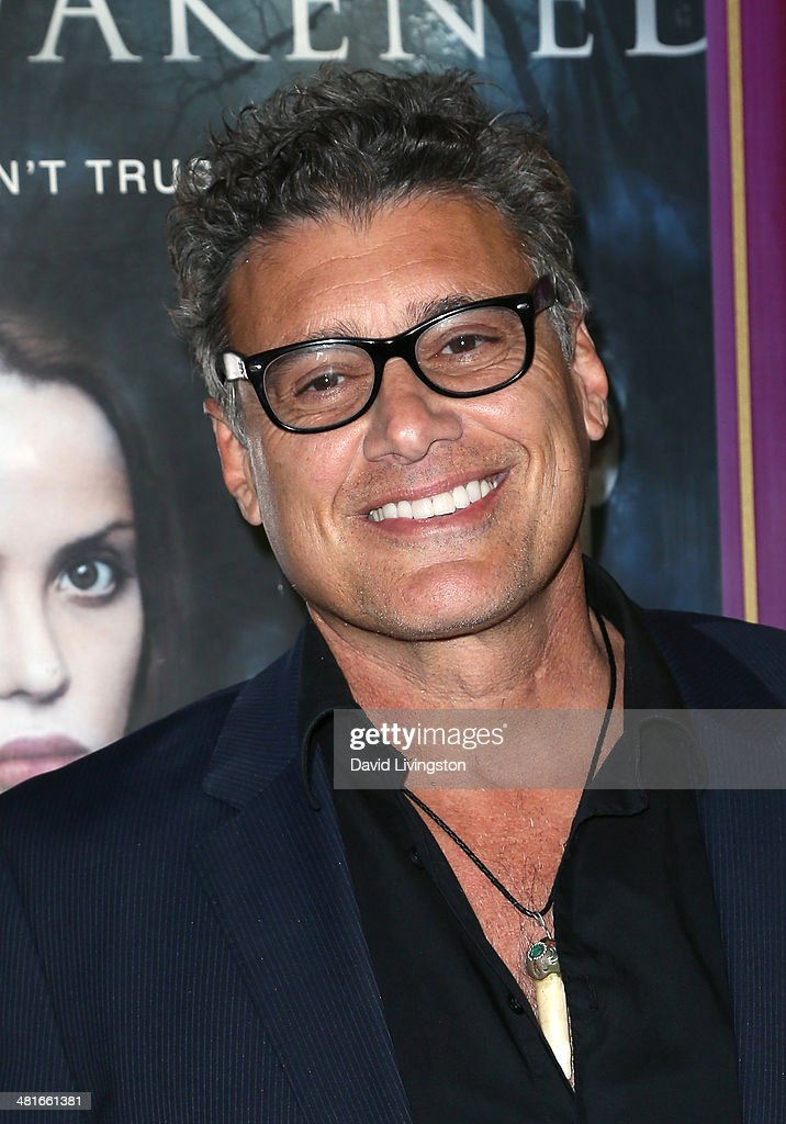 Actor <a gi-track='captionPersonalityLinkClicked' href=/galleries/search?phrase=Steven+Bauer&family=editorial&specificpeople=220736 ng-click='$event.stopPropagation()'>Steven Bauer</a> attends the Los Angeles premiere of 'Awakened' at the Laemmle Music Hall on March 30, 2014 in Beverly Hills, California.