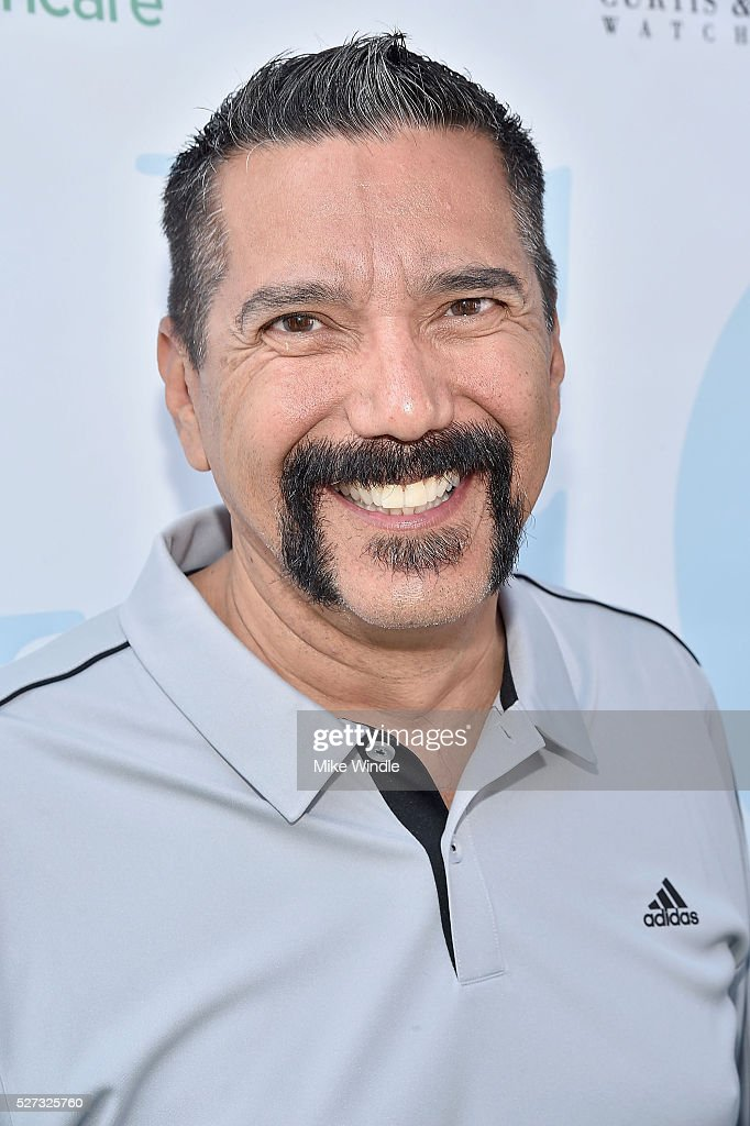 Actor Steven Michael Quezada attends the 9th Annual George Lopez Celebrity Golf Classic to benefit The George Lopez Foundation at Lakeside Golf Club on May 2, 2016 in Burbank, California.
