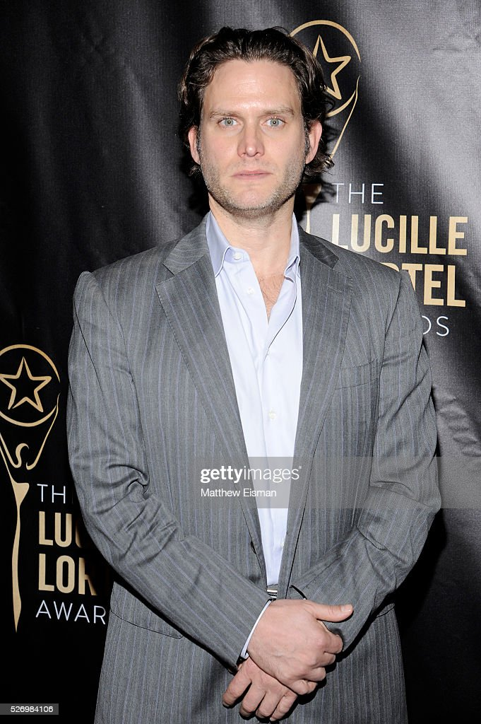 Actor Steven Pasquale arrives at the 31st Annual Lucille Lortel Awards at NYU Skirball Center on May 1, 2016 in New York City.