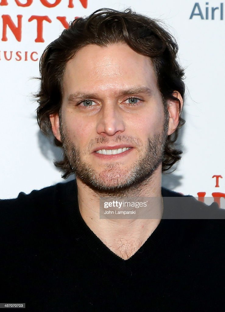 Actor Steven Pasquale attends 'The Bridges of Madison County' Cast Photo Call at The New 42nd Street Studios on December 16, 2013 in New York City.