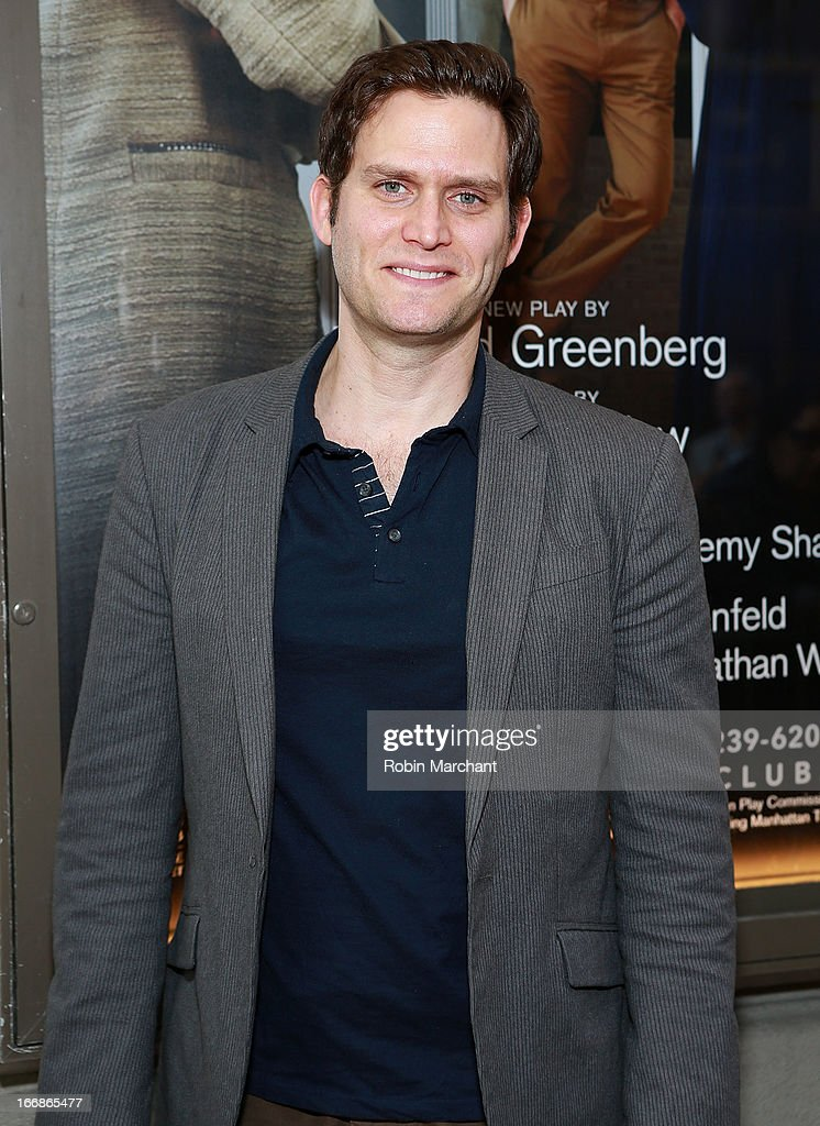 Actor Steven Pasquale attends the 'The Assembled Parties' opening night at Samuel J. Friedman Theatre on April 17, 2013 in New York City.