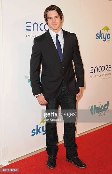 Actor Steven R McQueen arrives at the 5th Annual Thirst Gala at The Beverly Hilton Hotel on June 24 2014 in Beverly Hills California
