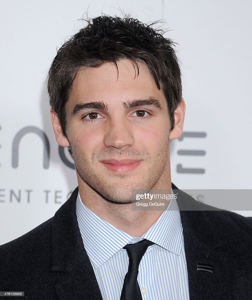 Actor Steven R McQueen arrives at the 6th Annual Thirst Gala at The Beverly Hilton Hotel on June 30 2015 in Beverly Hills California