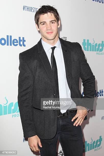 Actor Steven R McQueen attends the 6th Annual Thirst Gala at The Beverly Hilton Hotel on June 30 2015 in Beverly Hills California