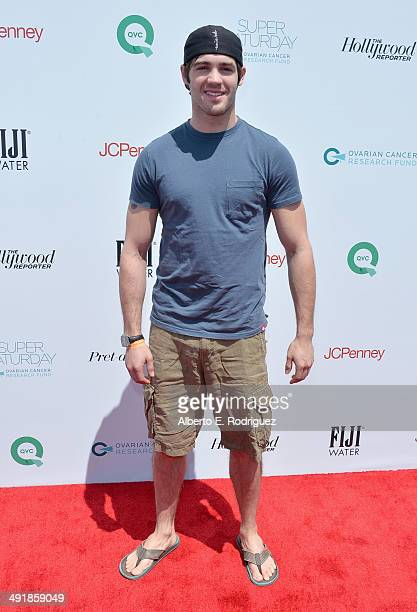 Actor Steven R McQueen attends the Ovarian Cancer Research Fund's Inaugural Super Saturday LA hosted by Molly Sims and Rachel Zoe at Barker Hangar on...