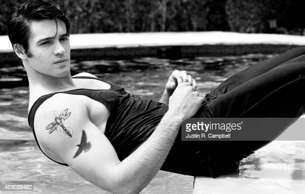 Actor Steven R McQueen is photographed for Just Jared on April 25 2014 in Los Angeles California PUBLISHED ONLINE