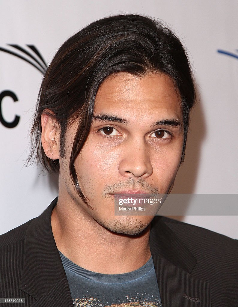Actor Steven Skylard arrives at The GEANCO Foundation's 'Impact Africa' Fundraiser at Bootsy Bellows on July 16, 2013 in West Hollywood, California.