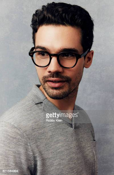 Actor Steven Strait from Syfy's 'The Expanse' poses for a portrait during ComicCon 2017 at Hard Rock Hotel San Diego on July 22 2017 in San Diego...