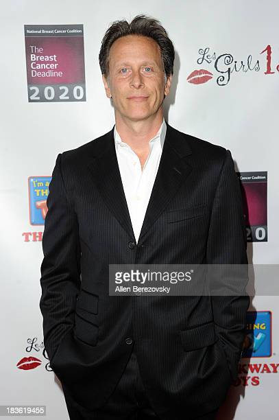 Actor Steven Weber attends the 13th annual Les Girls benefiting the National Breast Cancer Coalition Fund at Avalon on October 7 2013 in Hollywood...