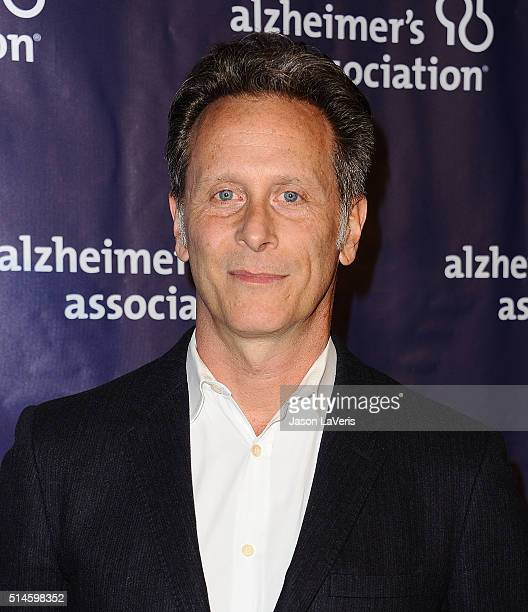 Actor Steven Weber attends the 2016 Alzheimer's Association's 'A Night At Sardi's' at The Beverly Hilton Hotel on March 9 2016 in Beverly Hills...