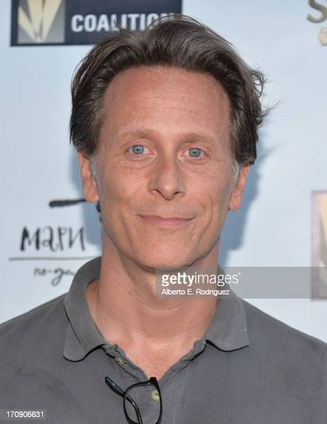 Actor Steven Weber attends The Creative Coalition's 2013 Summer Soiree at Mari Vanna Los Angeles on June 19 2013 in West Hollywood California