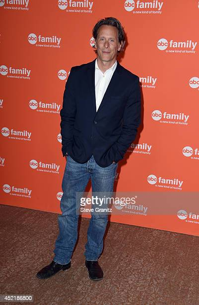Actor Steven Weber attends the Disney/ABC Television Group 2014 Television Critics Association Summer Press Tour at The Beverly Hilton Hotel on July...
