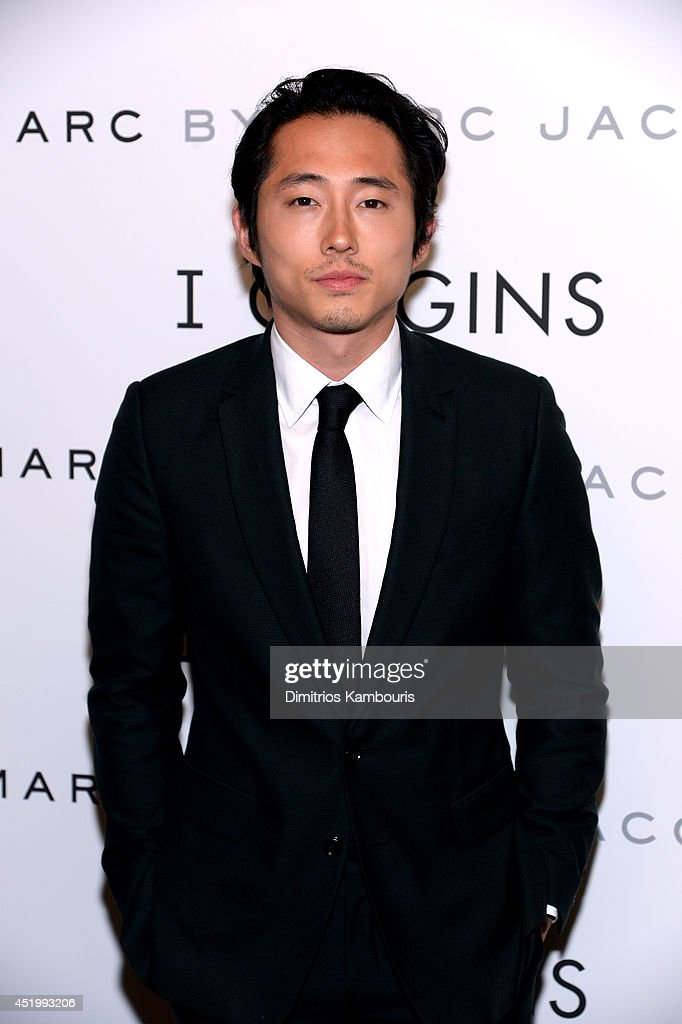 Actor <a gi-track='captionPersonalityLinkClicked' href=/galleries/search?phrase=Steven+Yeun&family=editorial&specificpeople=7249223 ng-click='$event.stopPropagation()'>Steven Yeun</a> attends the 'I Origins' screening at Sunshine Landmark on July 10, 2014 in New York City.