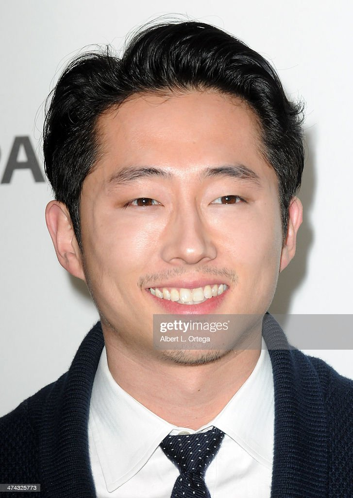 Actor <a gi-track='captionPersonalityLinkClicked' href=/galleries/search?phrase=Steven+Yeun&family=editorial&specificpeople=7249223 ng-click='$event.stopPropagation()'>Steven Yeun</a> participates in The Paley Center For Media's PaleyFest 2013 Honoring 'The Walking Dead' held at The Saban Theater on March 1, 2013 in Beverly Hills, California.