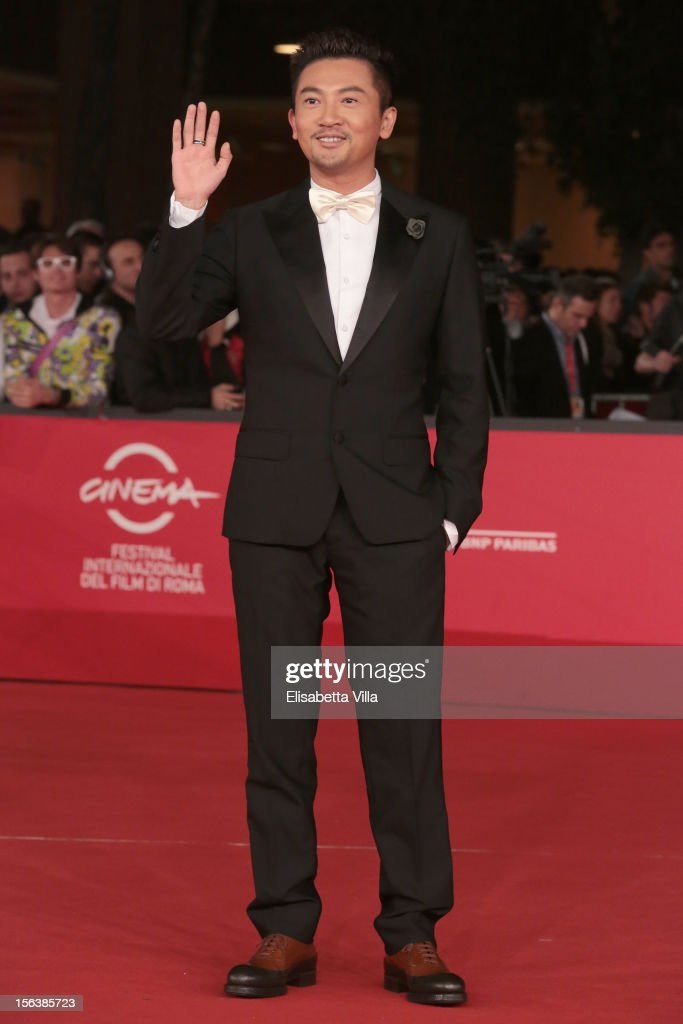 Actor Su You Peng attends the 'Bullets To The Head' Premiere during the 7th Rome Film Festival at the Auditorium Parco Della Musica on November 14, 2012 in Rome, Italy.