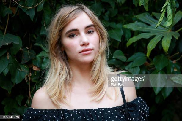 Actor Suki Waterhouse attends the 'Carte Blanche' cast dinner and reception at the Chateau Marmont on August 2 2017 in West Hollywood California