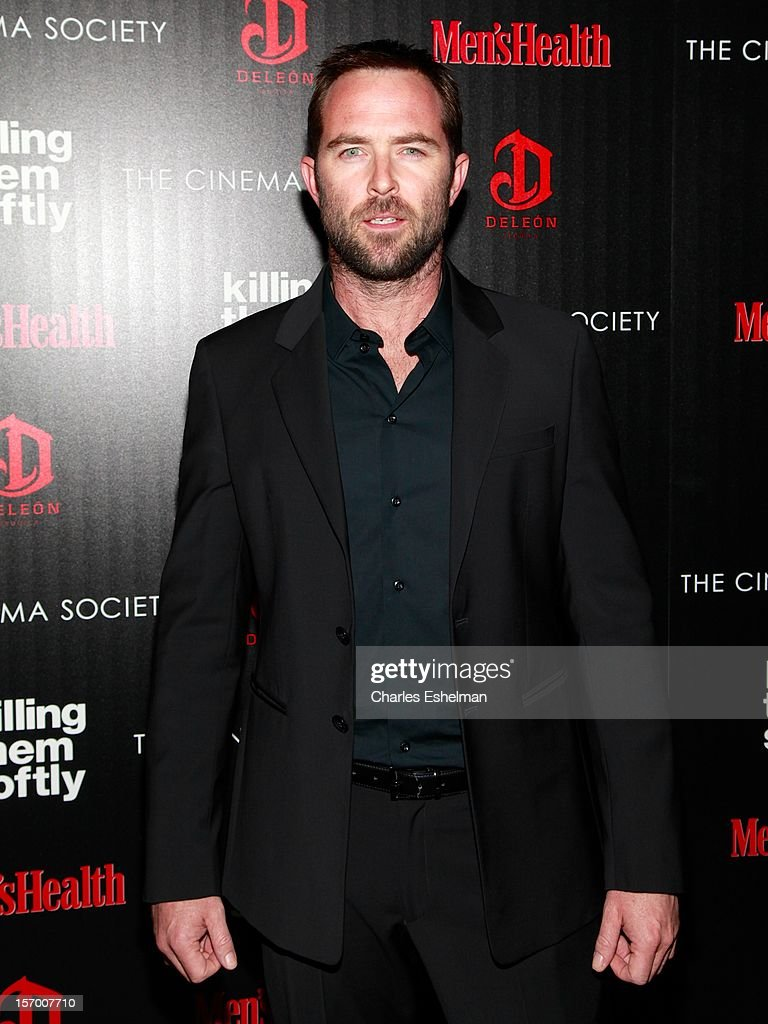 Actor Sullivan Stapleton attends a screening of The Weinstein Company's 'Killing Them Softly' hosted by The Cinema Society with Men's Health and DeLeon at SVA Theatre on November 26, 2012 in New York City.