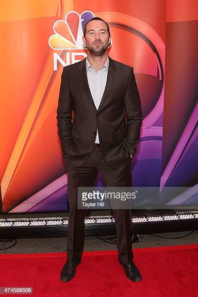 Actor Sullivan Stapleton attends the 2015 NBC Upfront Presentation Red Carpet Event at Radio City Music Hall on May 11 2015 in New York City