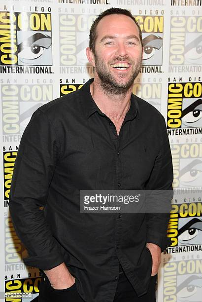 Actor Sullivan Stapleton attends the 'Blindspot' Press Line during ComicCon International 2016 at Hilton Bayfront on July 23 2016 in San Diego...