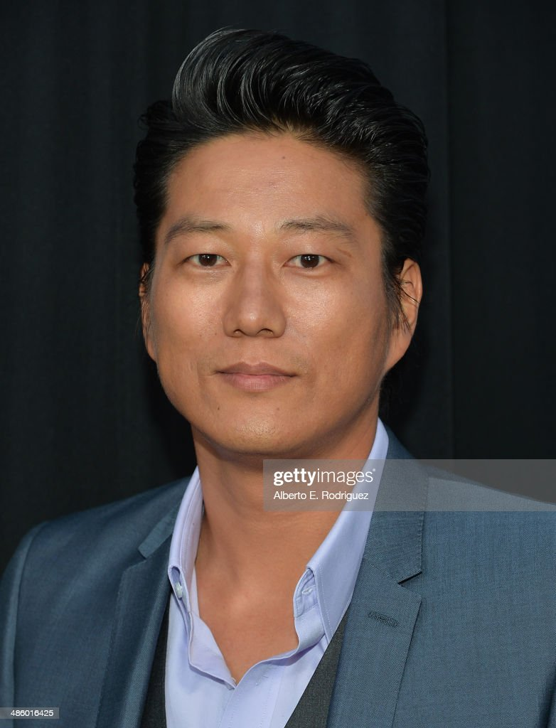 Actor <a gi-track='captionPersonalityLinkClicked' href=/galleries/search?phrase=Sung+Kang+-+Actor&family=editorial&specificpeople=2582012 ng-click='$event.stopPropagation()'>Sung Kang</a> arrives to the premiere of Fox's 'Gang Releted' at Homeboy Industries on April 21, 2014 in Los Angeles, California.