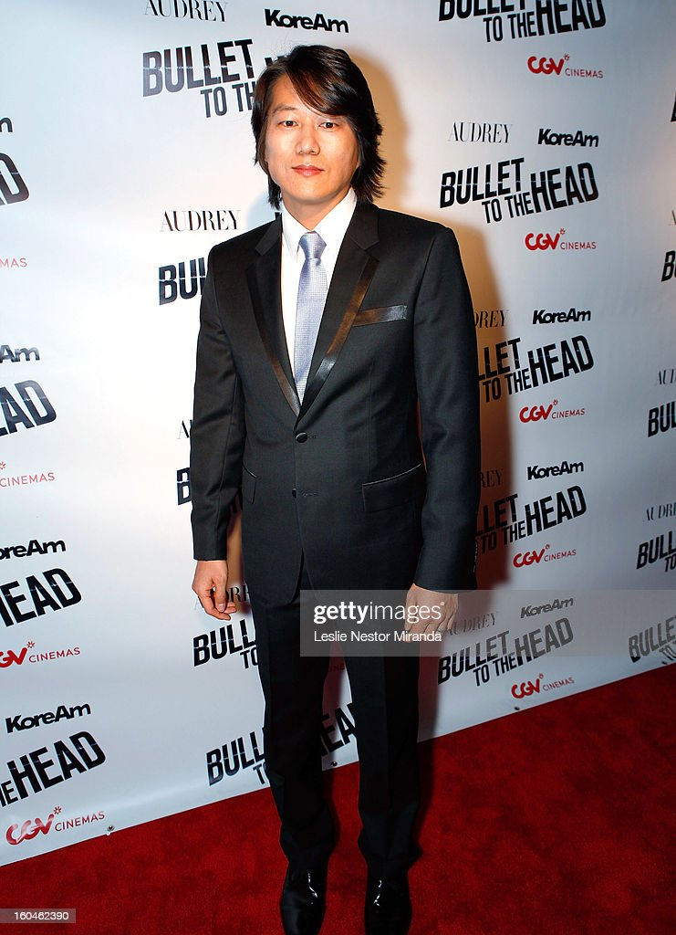 Actor <a gi-track='captionPersonalityLinkClicked' href=/galleries/search?phrase=Sung+Kang&family=editorial&specificpeople=2582012 ng-click='$event.stopPropagation()'>Sung Kang</a> attends 'Bullet To The Head' screening at CGV Cinemas on January 31, 2013 in Los Angeles, California.