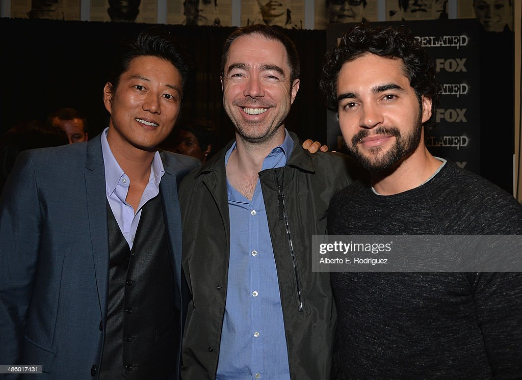 Actor Sung Kang , executive producer Chris Morgan and ...