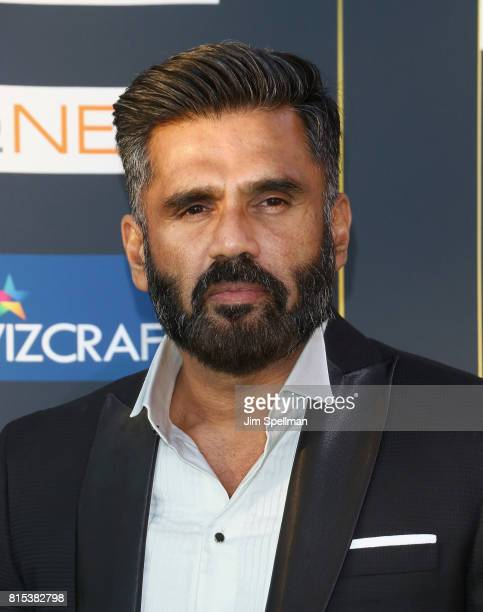 Actor Sunil Shetty attends the 2017 International Indian Film Academy Festival at MetLife Stadium on July 14 2017 in East Rutherford New Jersey