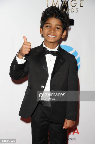 Actor Sunny Pawar attends the 48th NAACP Image Awards at Pasadena Civic Auditorium on February 11 2017 in Pasadena California