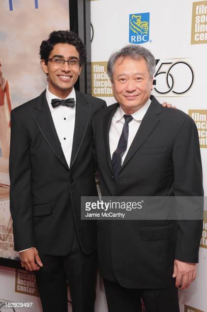 Actor Suraj Sharma and director Ang Lee attend the Opening Night Gala Presentation Of 'Life Of Pi' at the 50th New York Film Festival at Alice Tully...