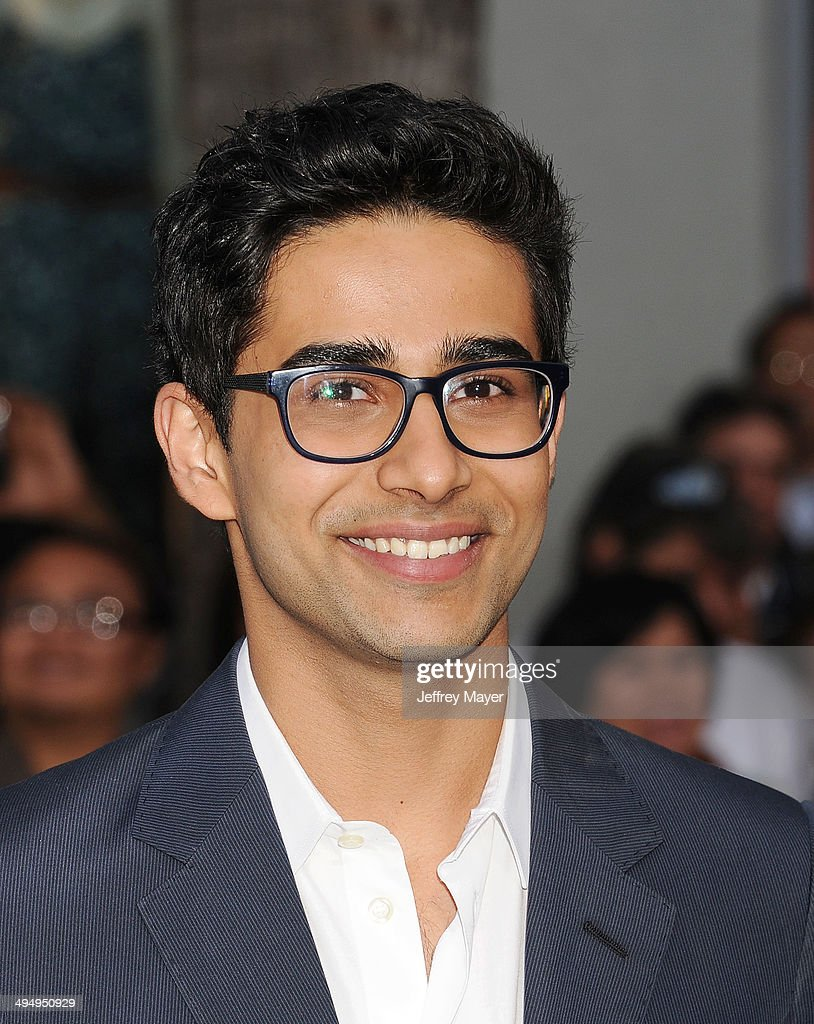 Actor <a gi-track='captionPersonalityLinkClicked' href=/galleries/search?phrase=Suraj+Sharma&family=editorial&specificpeople=9768453 ng-click='$event.stopPropagation()'>Suraj Sharma</a> arrives at the Los Angeles premiere of 'Million Dollar Arm' at the El Capitan Theatre on May 6, 2014 in Hollywood, California.