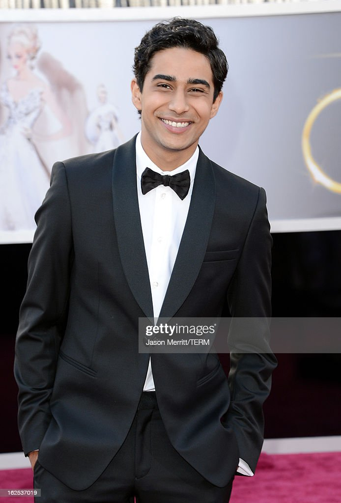 Actor <a gi-track='captionPersonalityLinkClicked' href=/galleries/search?phrase=Suraj+Sharma&family=editorial&specificpeople=9768453 ng-click='$event.stopPropagation()'>Suraj Sharma</a> arrives at the Oscars at Hollywood & Highland Center on February 24, 2013 in Hollywood, California.
