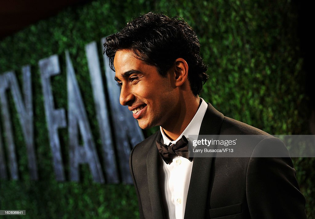 Actor <a gi-track='captionPersonalityLinkClicked' href=/galleries/search?phrase=Suraj+Sharma&family=editorial&specificpeople=9768453 ng-click='$event.stopPropagation()'>Suraj Sharma</a> arrives for the 2013 Vanity Fair Oscar Party hosted by Graydon Carter at Sunset Tower on February 24, 2013 in West Hollywood, California.