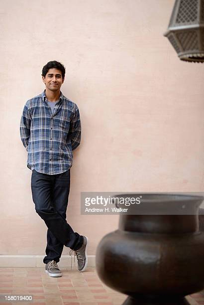 Actor Suraj Sharma during a portrait session on day one of the 9th Annual Dubai International Film Festival held at the Madinat Jumeriah Complex on...