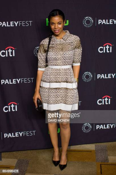Actor Susan Kelechi Watson attends PaleyFest LA at the Dolby Theatre on March 18 2017 in the Hollywood section of Los Angeles California / AFP PHOTO...