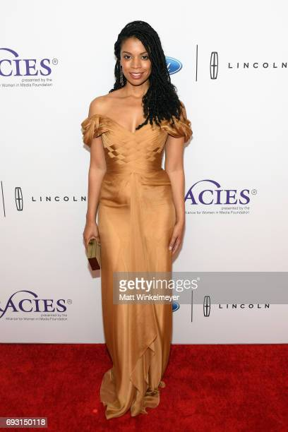 Actor Susan Kelechi Watson attends the 42nd Annual Gracie Awards at the Beverly Wilshire Hotel on June 6 2017 in Beverly Hills California