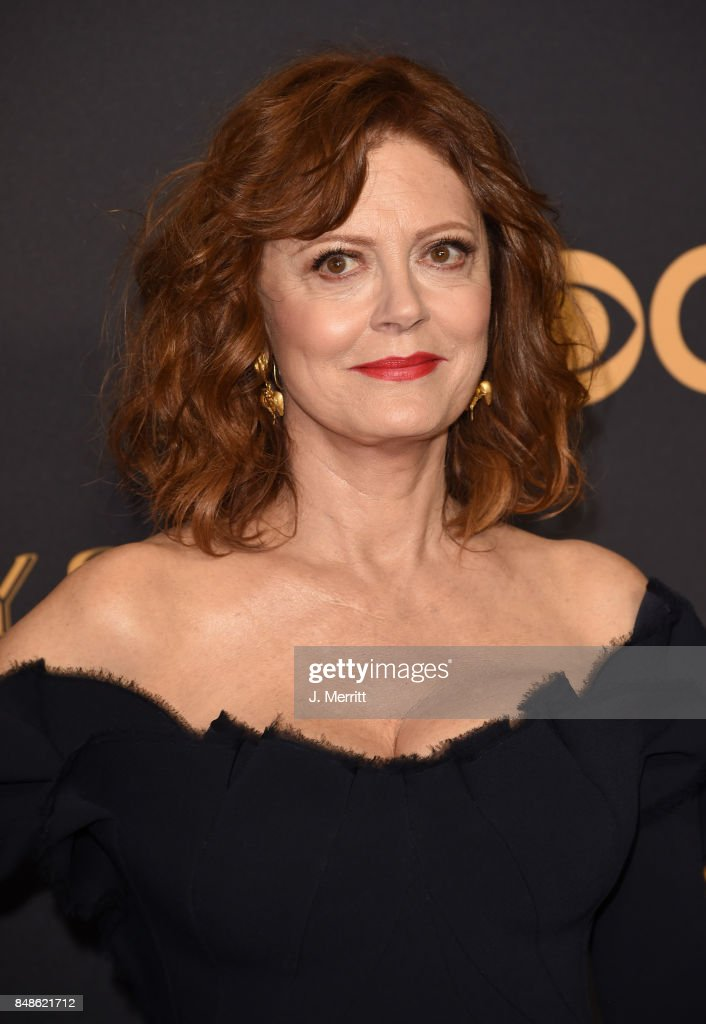 Actor Susan Sarandon attends the 69th Annual Primetime Emmy Awards at Microsoft Theater on September 17, 2017 in Los Angeles, California.