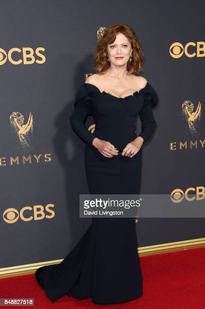 Actor Susan Sarandon attends the 69th Annual Primetime Emmy Awards Arrivals at Microsoft Theater on September 17 2017 in Los Angeles California