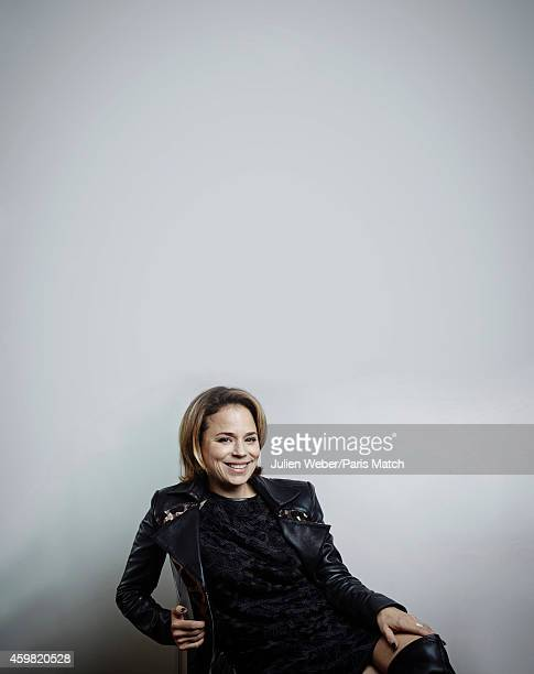Actor Suzanne Clement is photographed for Paris Match on October 15 2014 in Paris France