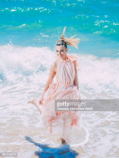 Actor Sveva Alviti wearing a Fendi dress is photographed for Paris Match on May 19 2017 in Cannes France