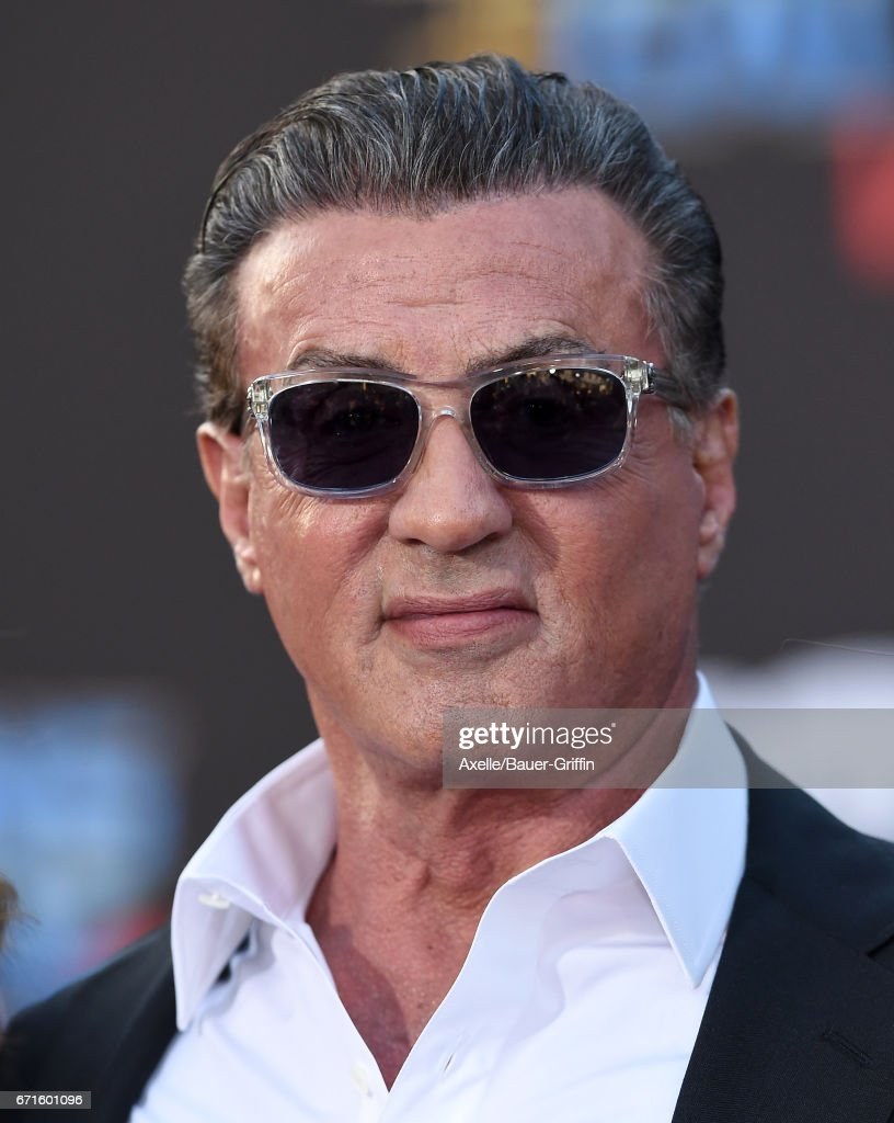 Actor Sylvester Stallone arrives at the premiere of Disney and Marvel's 'Guardians of the Galaxy Vol. 2' at Dolby Theatre on April 19, 2017 in Hollywood, California.