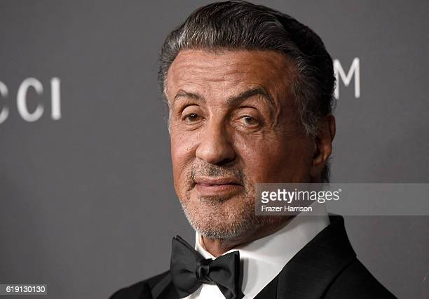 Actor Sylvester Stallone attends the 2016 LACMA Art Film Gala honoring Robert Irwin and Kathryn Bigelow presented by Gucci at LACMA on October 29...