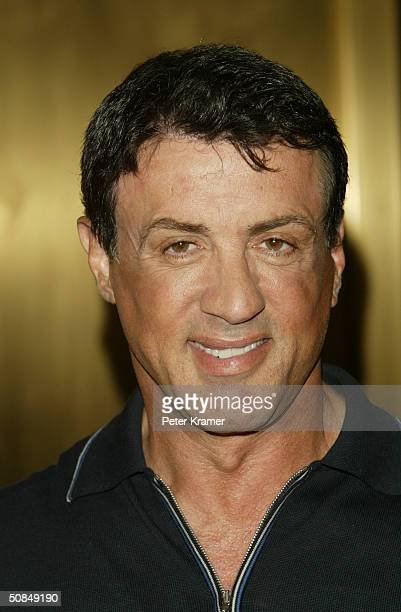 Actor Sylvester Stallone attends the NBC Primetime Preview at Radio City Music Hall May 17 2004 in New York City