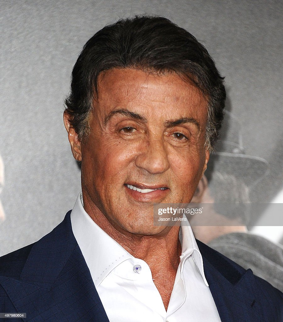 Actor Sylvester Stallone attends the premiere of 'Creed' at Regency Village Theatre on November - actor-sylvester-stallone-attends-the-premiere-of-creed-at-regency-picture-id497980604