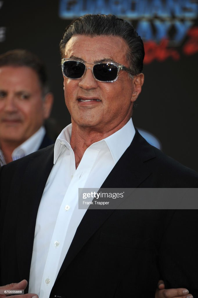 Actor Sylvester Stallone attends the premiere of Disney and Marvel's 'Guardians Of The Galaxy Vol 2' at the Dolby Theatre on April 19, 2017 in Hollywood, California.