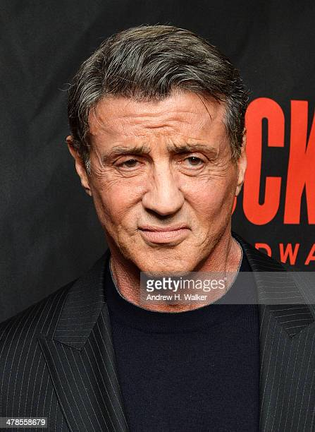 Actor Sylvester Stallone attends the 'Rocky' Broadway opening night after party at Roseland Ballroom on March 13 2014 in New York City
